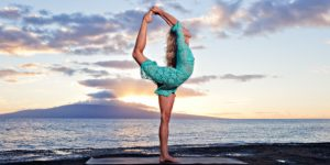 Йога на испанском побережье