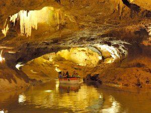 Выезд на подземную реку (Пещеры Святого Иосифа)