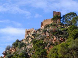 Развалины Castillo de Serra + Паэлья на костре