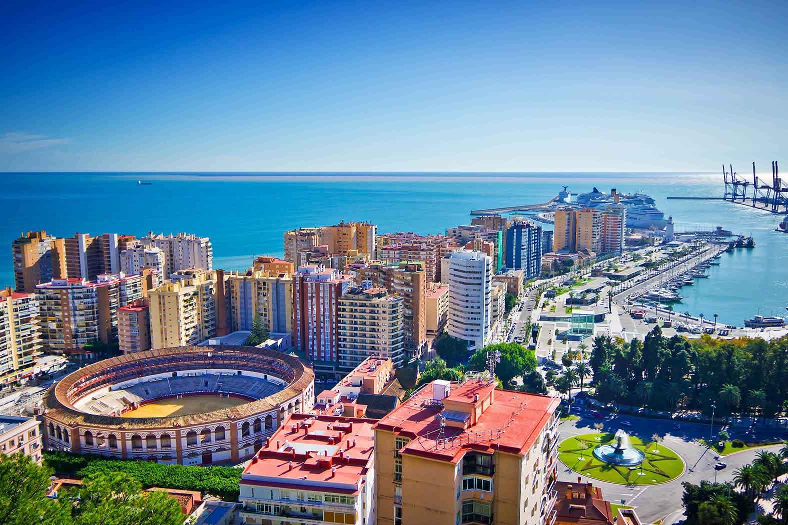 Малага - южный испанский город