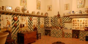 Керамические экспонаты