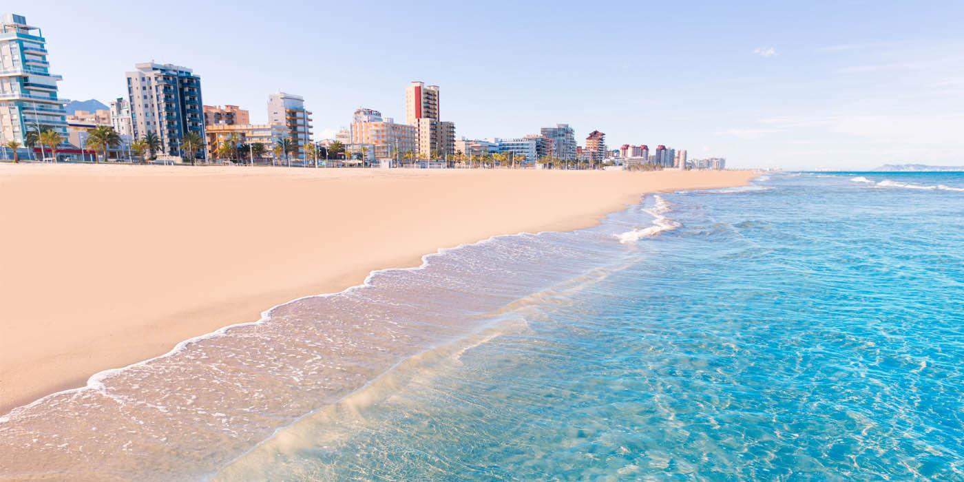 Пляжи с голубым знаком в Валенсии