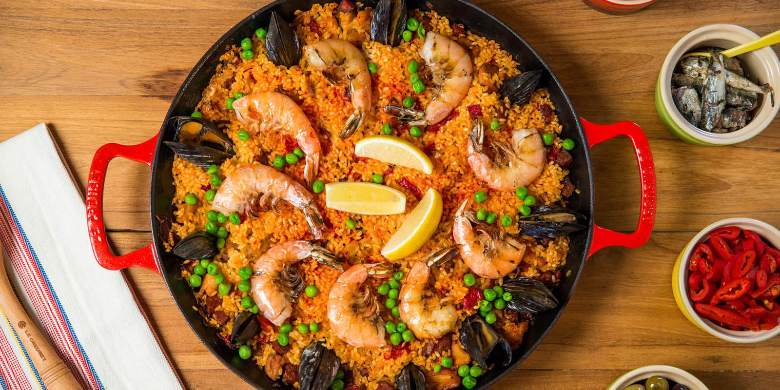Паэлья - национальное блюдо Испании