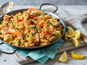 Паэлья — главное блюдо Валенсии