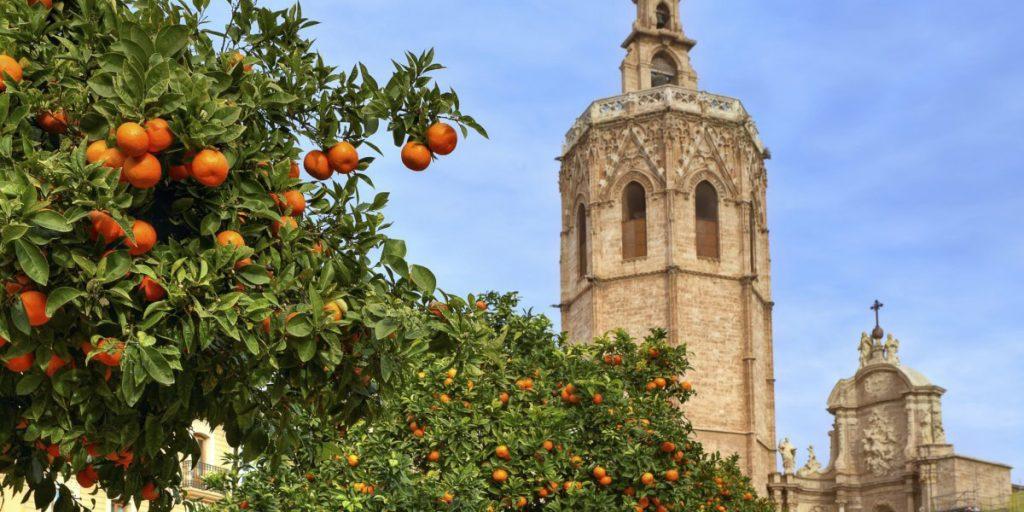 Башня Torre del Miquelete. Валенсия. Испания