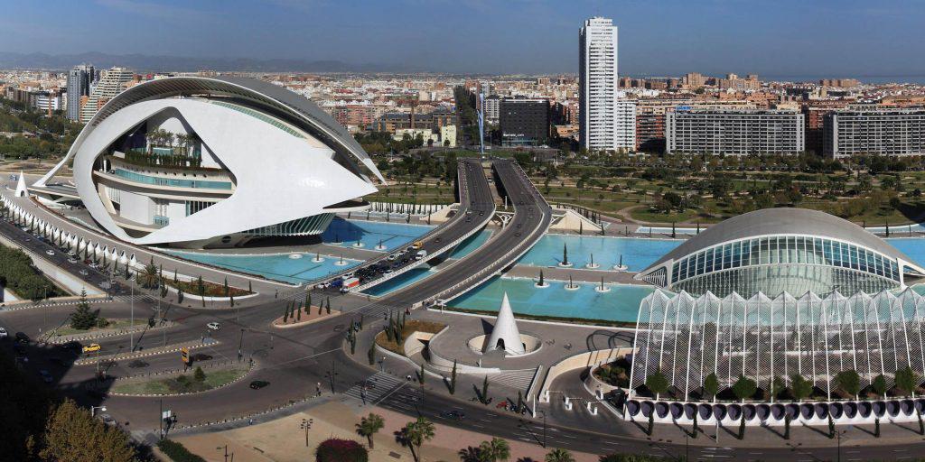 Валенсия - город будущего