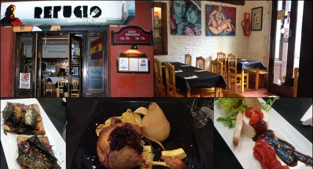 Ресторан-бар Refugio. Валенсия