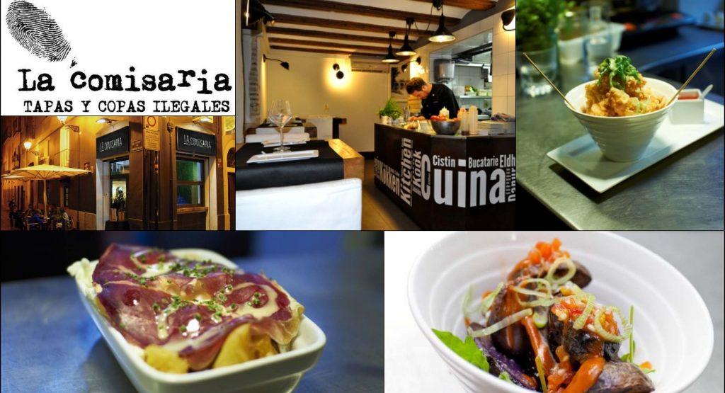 Ресторан и тапас-бар La Comisaria. Валенсия