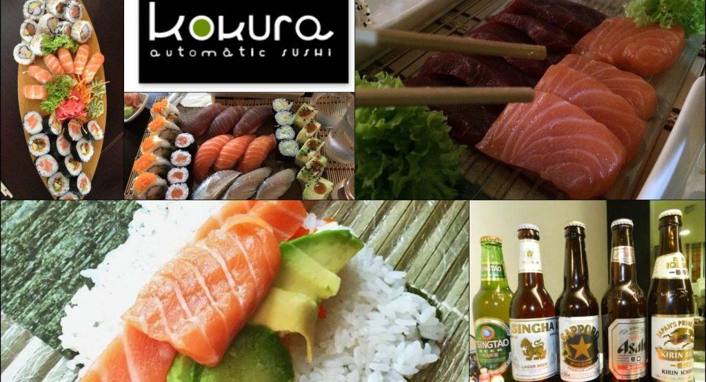 Суши-бар Kokura Automatic Sushi. Валенсия